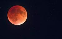 Украинцы смогут увидеть самое долгое лунное затмение