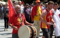 В Греции после соглашения с Македонией начались протесты и столкновения