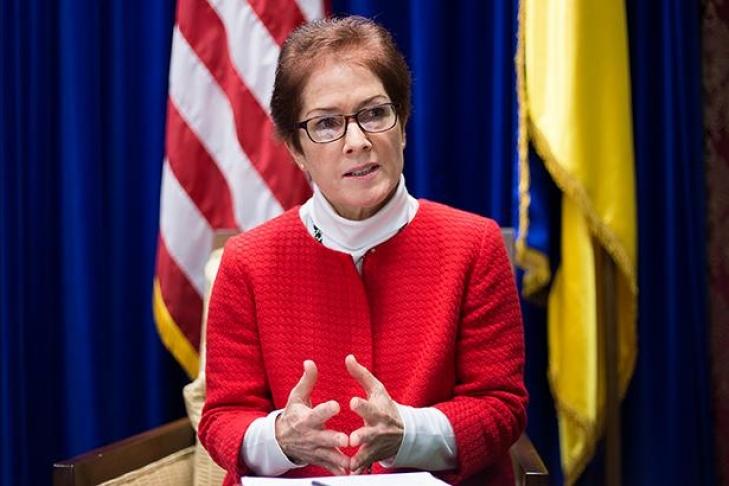 Посол США поведала окоррупции вгосударстве Украина