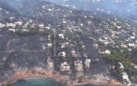 Число погибших из-за лесных пожаров в Греции увеличилось до 77