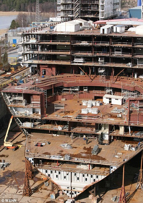 Титаник 2018: фото и строительство. Построят ли Титаник 2 к 2018 году?