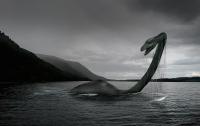 Подводная камера запечатлела неизвестного монстра в озере Лох-Несс
