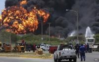 В Венесуэле на нефтезаводе взорвалось третье нефтехранилище