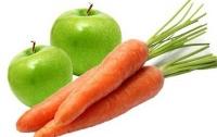 Советуют кушать яблоки и морковку, чтоб уберечься от смертельной болезни