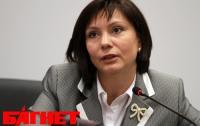 Бондаренко пообещала новый закон к 2014 году