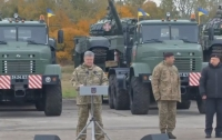 Украинская армия пополнится двумя танковыми батальонами, - Порошенко (видео)