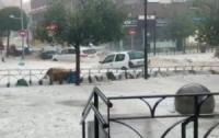 Целый город затопило дождями