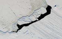 NASA опубликовало снимок гигантского айсберга в Исландии