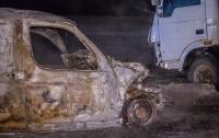 Жуткое ДТП под Днепром: водитель сгорел заживо
