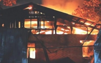 Пожар в Одессе: медсестра