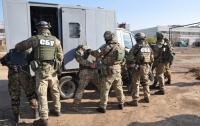 Крупные антитеррористические учения проходят в Запорожской области