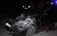 В Киеве столкнулись четыре автомобиля, пострадала девушка