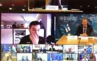 Журналист умудрился зайти на закрытую видеоконференцию высокопоставленных чиновников