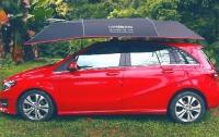Разработан многофункциональный зонт для автомобиля