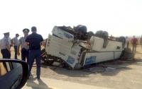 В Баку столкнулись автобус и грузовик, есть жертвы