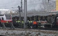 Столкновение поездов в Австрии: есть погибший и раненые