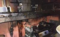 Кафе-фастфуд горело в Николаеве