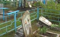 На Луганщине милиция поймала сатанистов-вандалов, устраивающих ритуальные оргии на кладбище