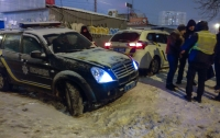 Полицейские в Киеве с погоней ловили серийного вора