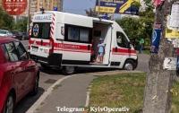 Водитель наехал на ребенка и поплатился за это (фото)