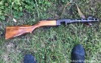 У трех жителей Киевской области изъяли крупный арсенал оружия