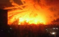 Гройсман: ликвидация пожара на военных складах в Балаклее может занять неделю