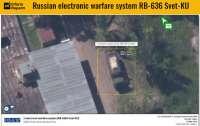 В оккупированном Новоазовске заметили российский комплекс СБ-636