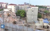 В Китае обрушилось здание, есть погибшие и пострадавшие (видео)