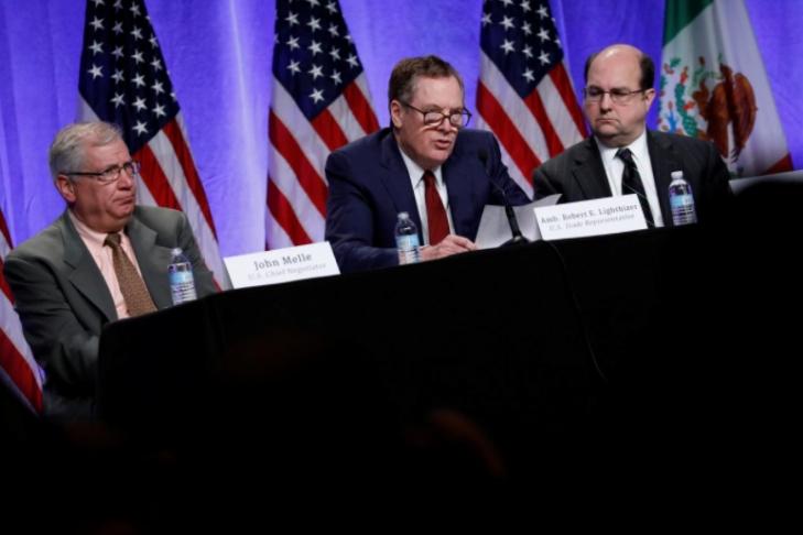 США, Канада иМексика обсуждают реформу контракта  освободной торговле