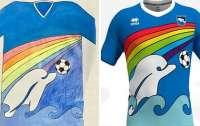 Футбольный клуб создал форму по рисунку шестилетнего болельщика
