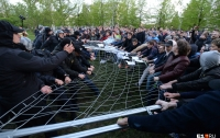 Российские полицейские сломали нос подростку из-за строительства РПЦ