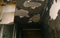 В жилой многоэтажке под Киевом произошел пожар