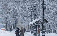 Украину заморозит и заметет снегом