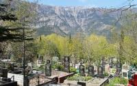 Жителям Крыма запретили ходить на кладбища