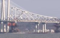 В Нью-Йорке взорвали мост через Гудзон