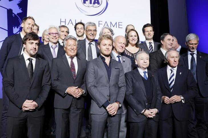 Открытие Зала славы Международной автомобильной федерации состоялось встолице франции