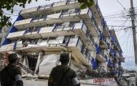 Сильное землетрясение произошло у берегов Эквадора