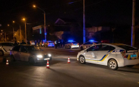Бандиты избили таксиста, и устроила погоню с полицией (видео)