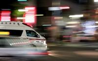 В Японии автомобиль влетел в супермаркет, 14 человек пострадали