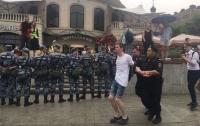 В Москве задержали Навального и с ним 200 человек, которые вышли на акцию (видео)