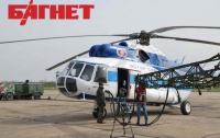 В Крыму испытывают вертолет Ми-8МСБ в условиях естественного обледенения (ФОТО)