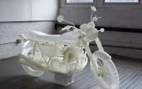 Художник напечатал на 3D-принтере мотоцикл
