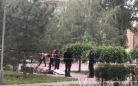 В центре Запорожья обнаружили труп