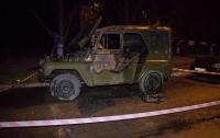 В Киеве пожилой мужчина заживо сгорел в собственном автомобиле (видео)