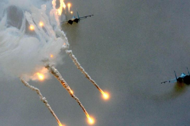 ВВС Израиля нанесли удар посирийской территории