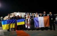 Французский самолет первый раз прилетел в Киев
