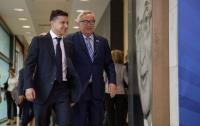 Президент Украины встретился с главой Еврокомиссии