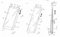 Samsung патентует смартфон со сворачивающимся дисплеем