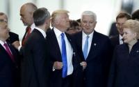 Трамп успел отличиться грубым поведением на саммите НАТО (видео)