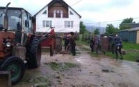 В Карпатах подтопленных домов уже нет - ГСЧС